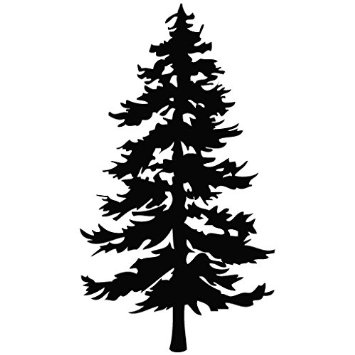 Free Evergreen Tree Clipart Black And White, Download Free.