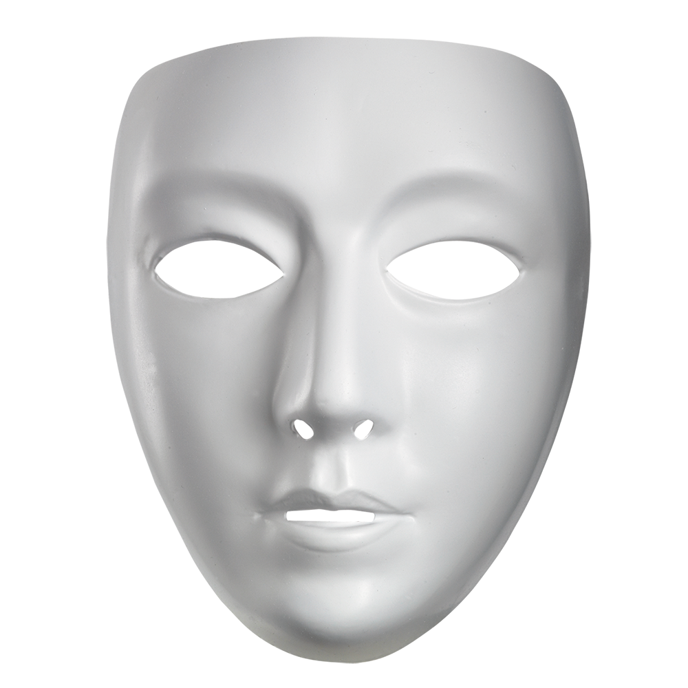 Mask Costume party Face White.