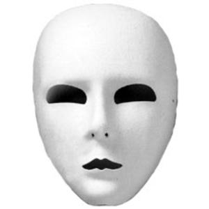 Full Face Mask White Ud.