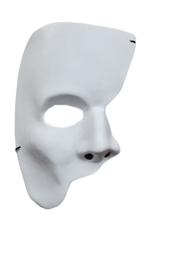 White,Face,Head,Nose,Headgear,Ear,Mask,Masque,Costume,Bone,Skull.