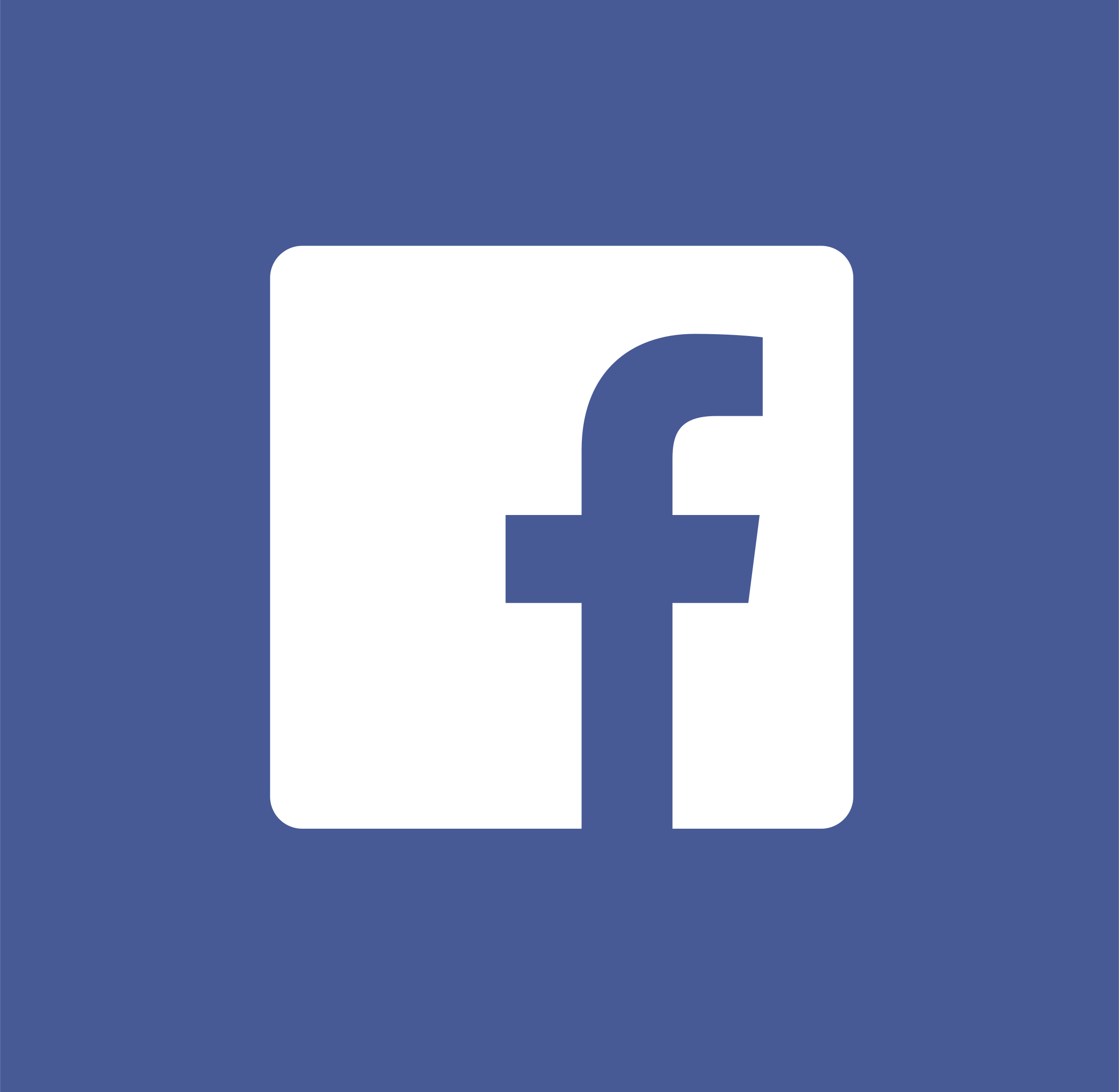 Facebook icon white Logo PNG Transparent & SVG Vector.