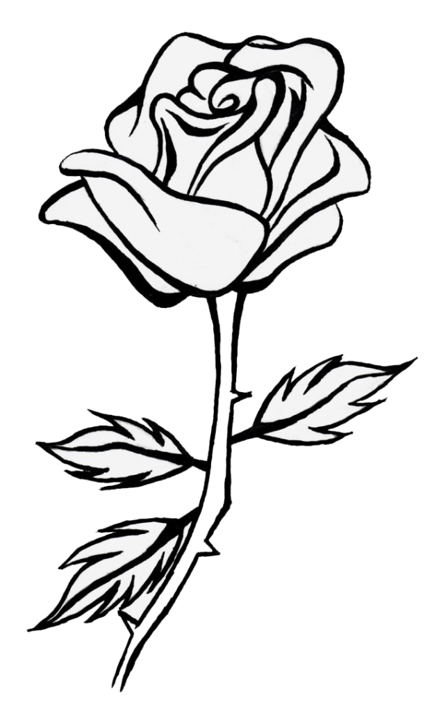 999+ Flower Clipart Black And White [Free Download.