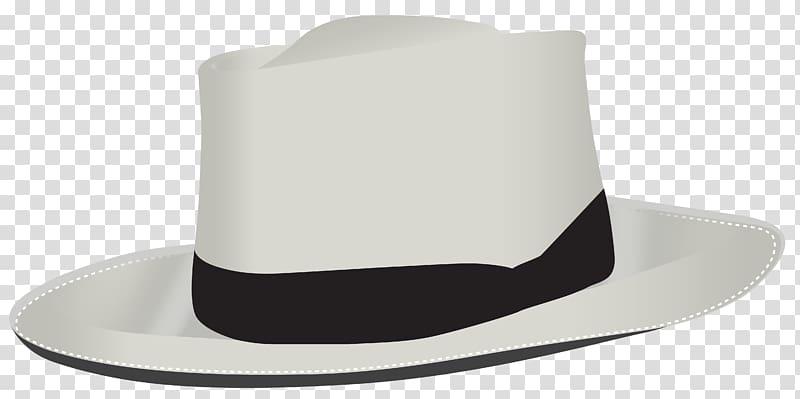 White and black fedora hat illustration, Product Fedora.