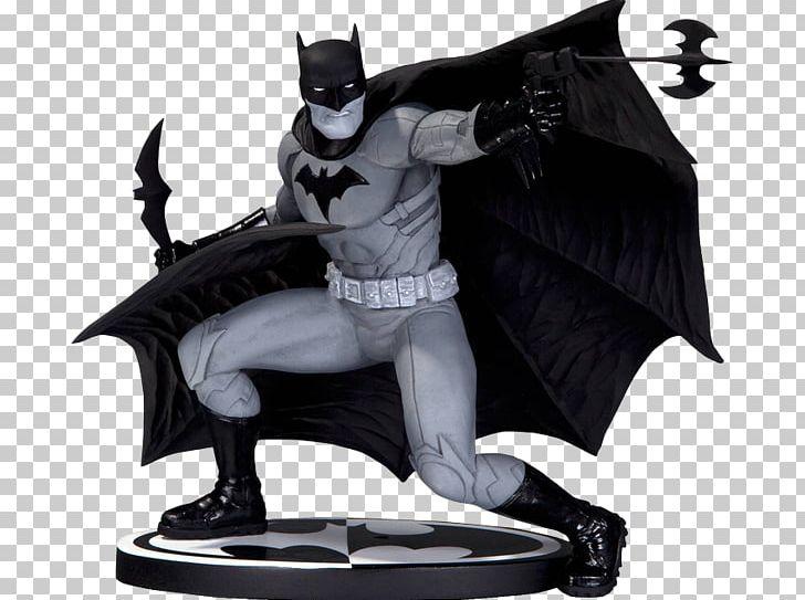 Batman Black And White Figurine Joker Harley Quinn PNG.