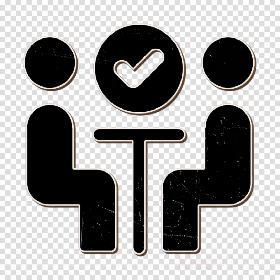 Meeting icon Filled Management Elements icon clipart.