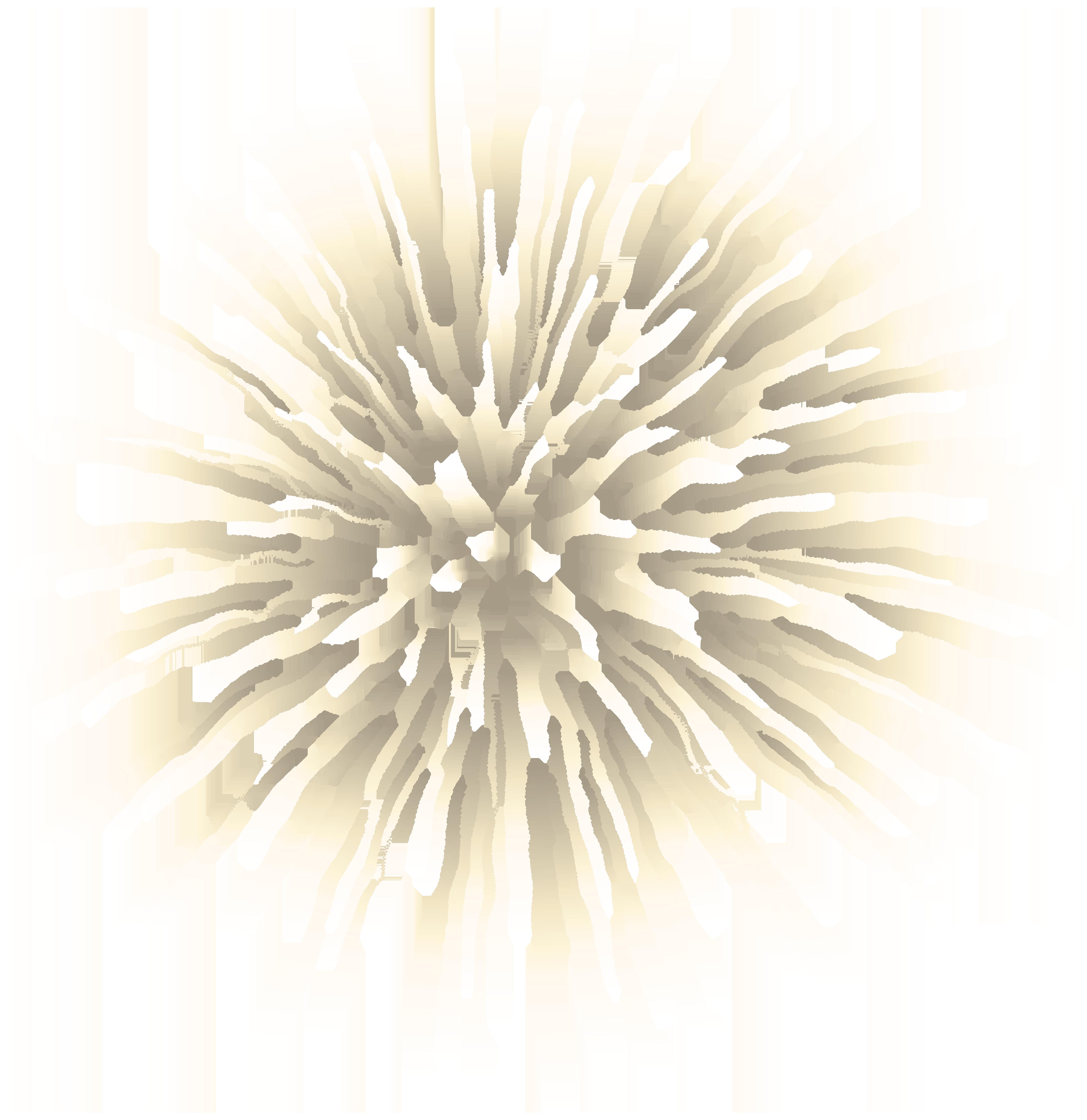Firework White Transparent Clip Art.