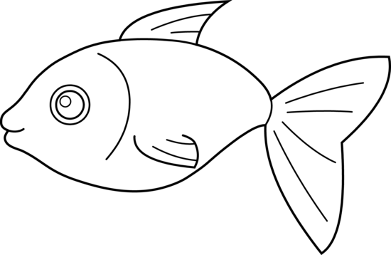 Fish Clipart Black And White Png.