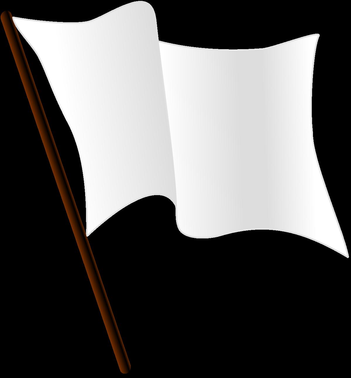 White flag.