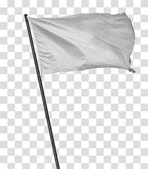 White flag Wait, White flag, raised white flag transparent.