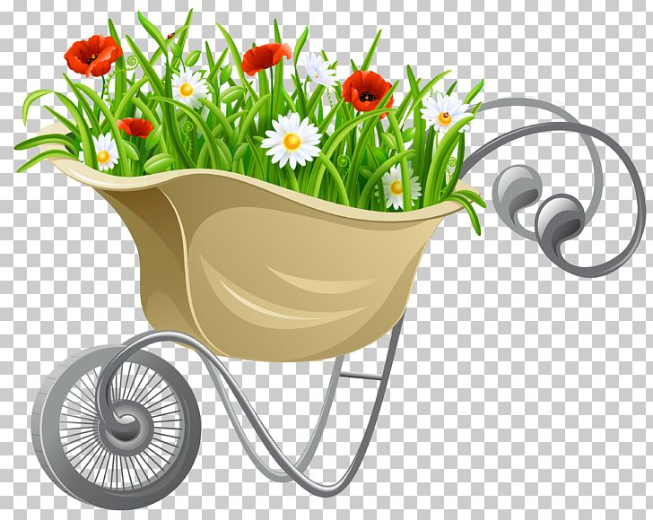 Wheelbarrow Flower PNG, Clipart, Clipart, Clip Art, Flora.