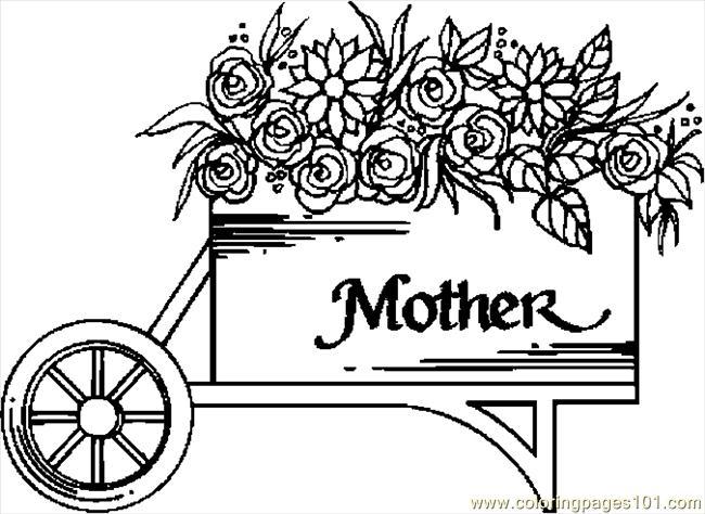 Clipart Flower Cart.