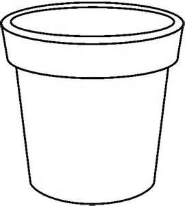 Free Black And White Flower Pot, Download Free Clip Art.