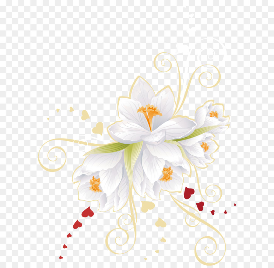 Flower Vector Clipart Png.