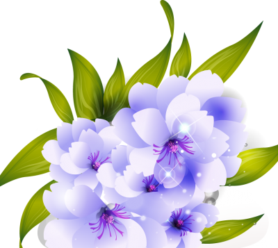 White Flower Vector Hq Png.
