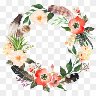 Flower Wreath PNG Images, Free Transparent Image Download.