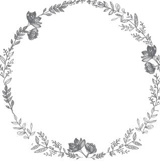 Download Free png Flower Wreath Wacom.