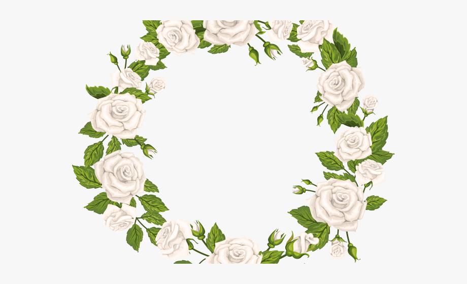 White Rose Clipart Transparent Background.