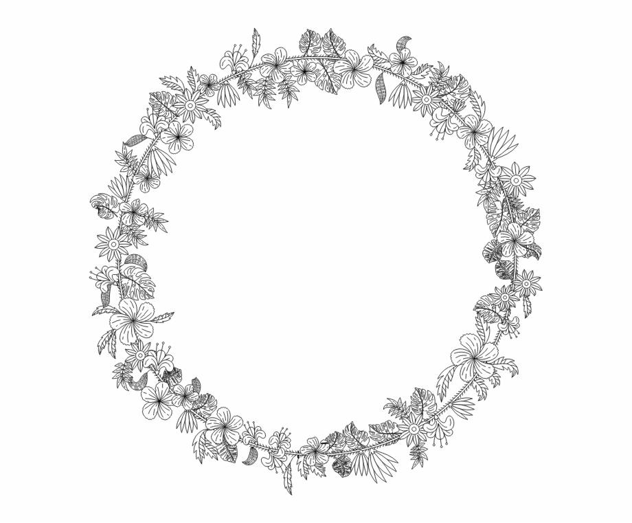 Flower Wreath.