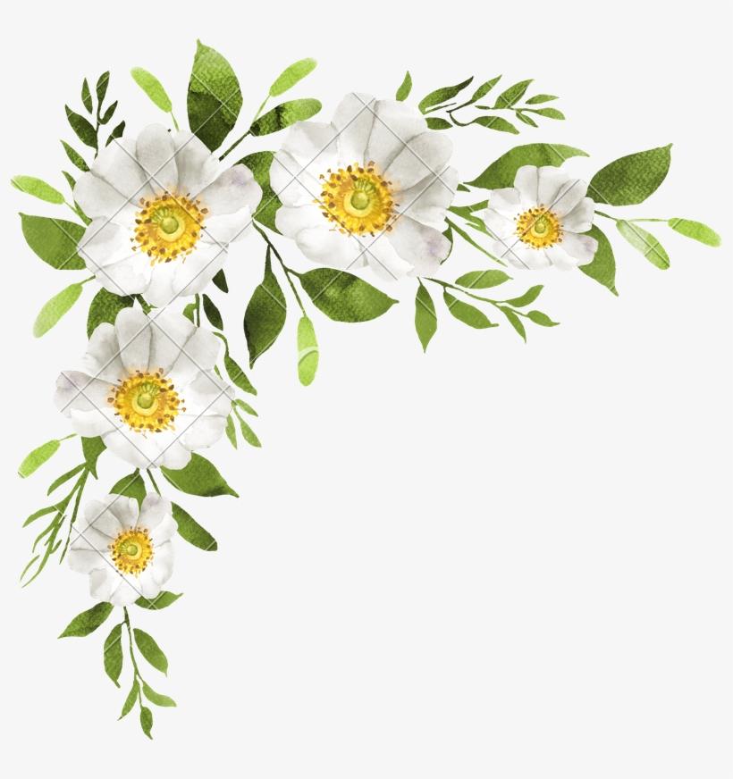 White Flowers Decoration Photos.