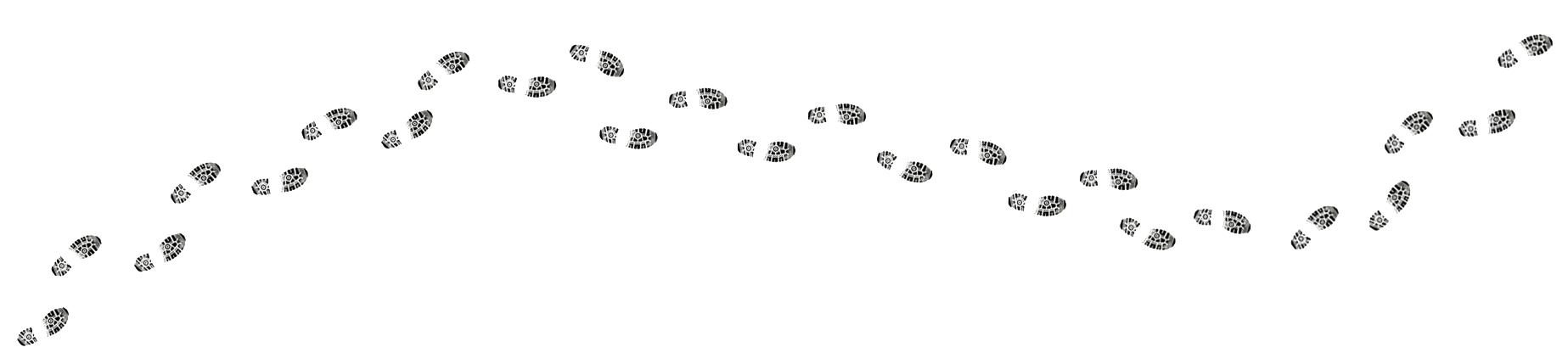 Trail clipart footprint, Trail footprint Transparent FREE.