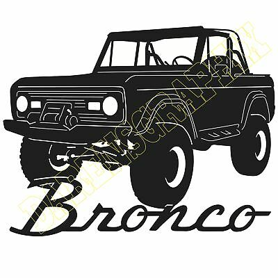 Ford Bronco.