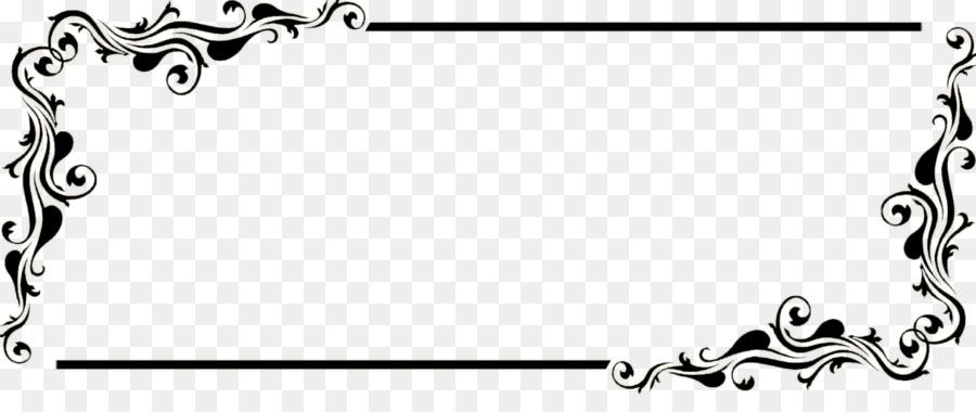 Black And White Frame clipart.