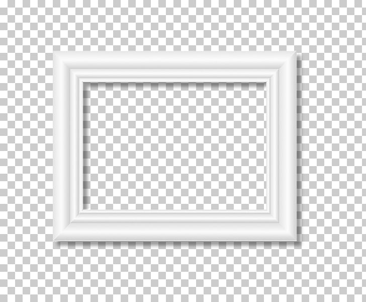 Black and white Pattern, White frame, animated rectangular.