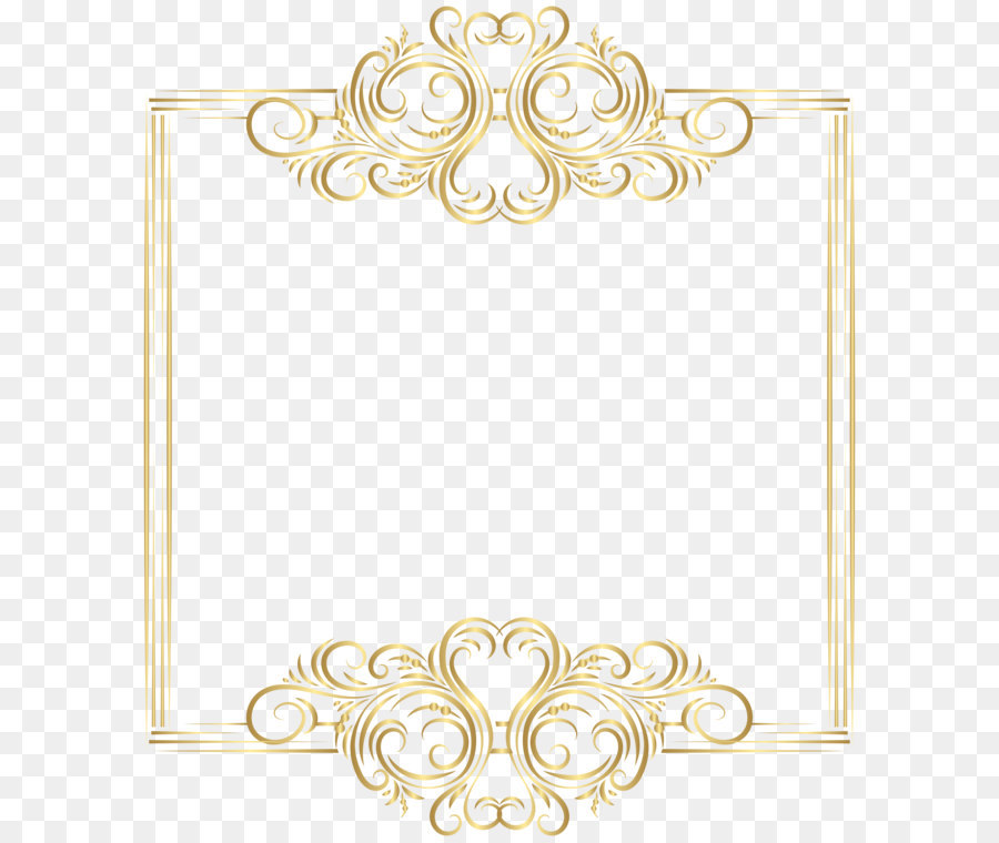Gold Border Clipart.