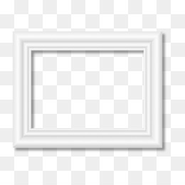 White Frame PNG.