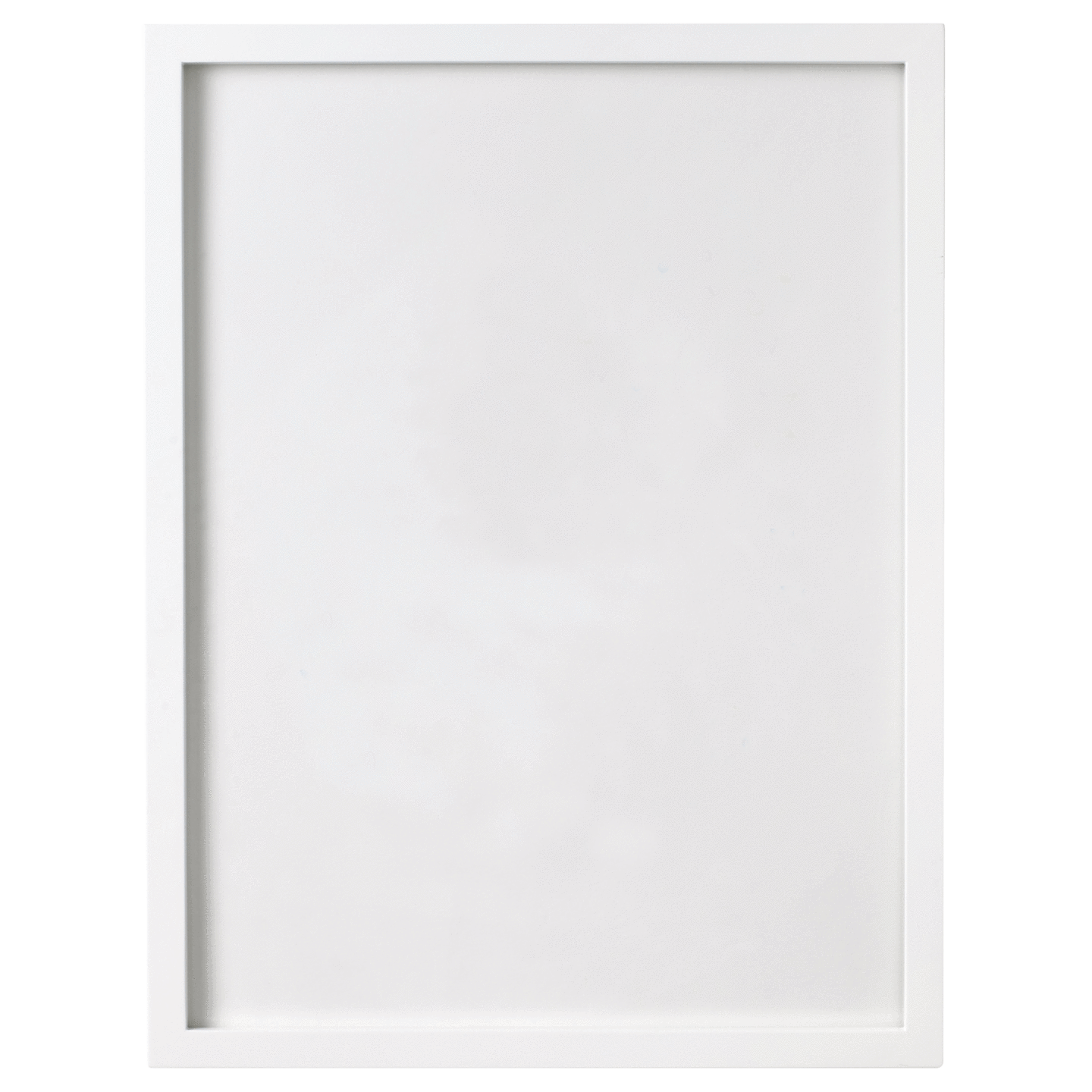 White Frame PNG Picture.