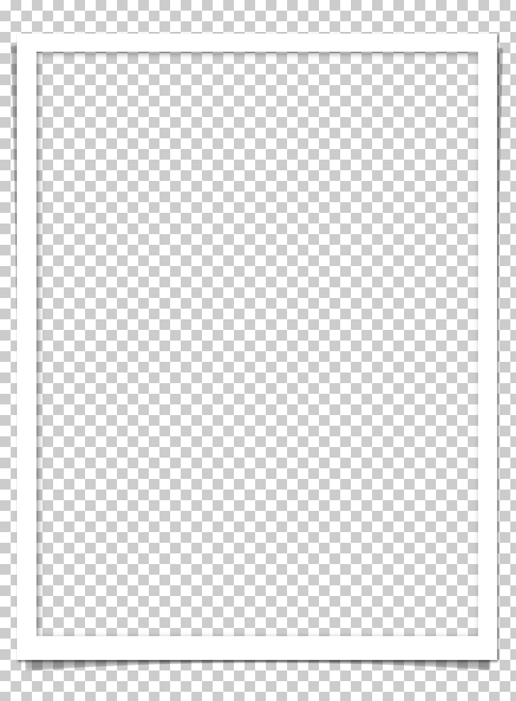 Black and white Material, White Frame PNG clipart.
