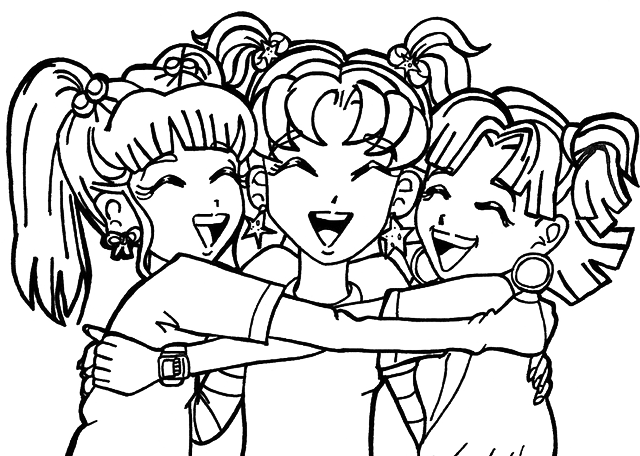 Friends Clipart Black And White Png.