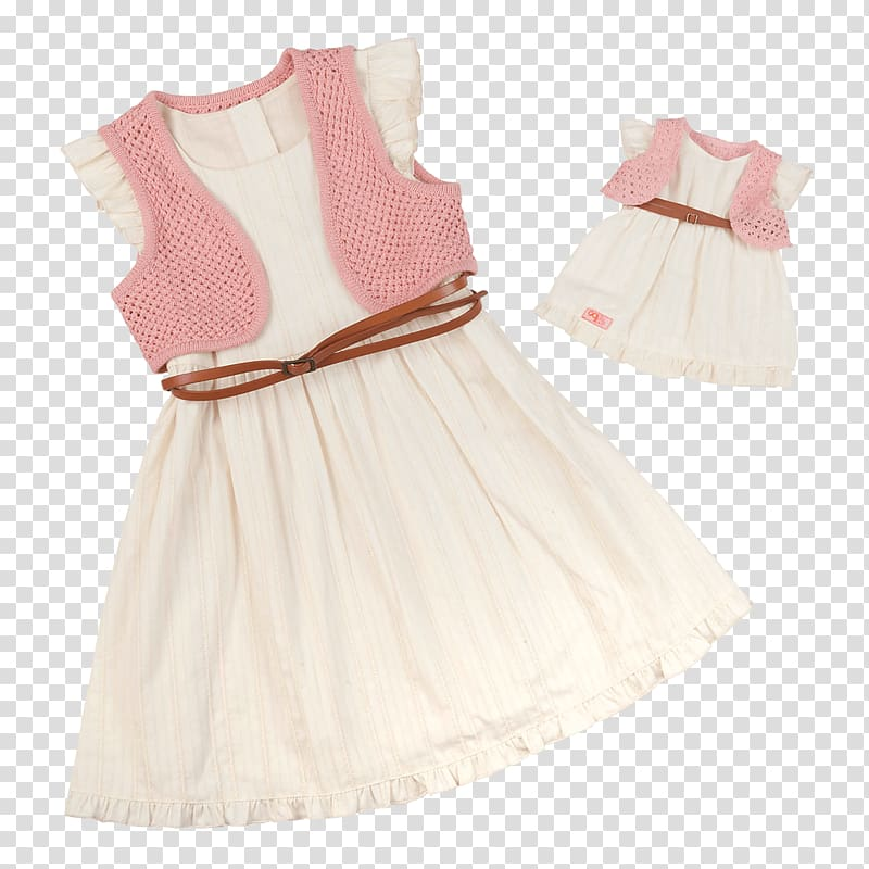 Doll American Girl Clothing Dress Ruffle, doll transparent.