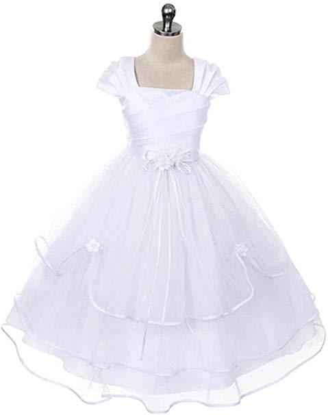 AMK Girls First Communion Dress.