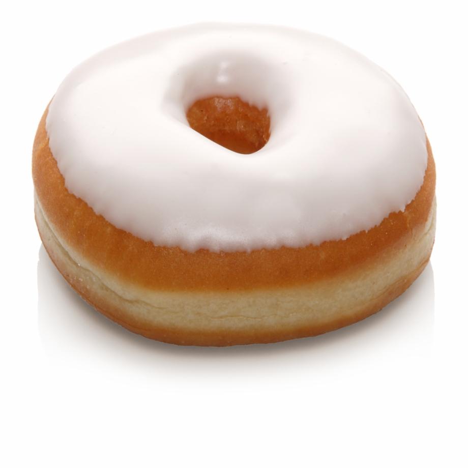 Sugar Icing American White Donut.