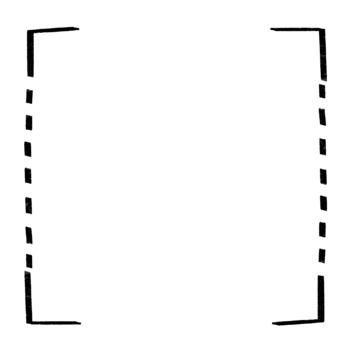 10 Free Black & White Fun Frames / Borders.