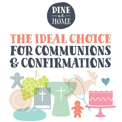 Communion/Confirmation? @Home Catering has the solution.