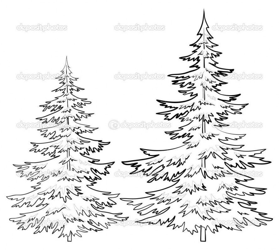 Clipart Christmas Tree 99 Lovely Clip Art Pine Tree 2019.