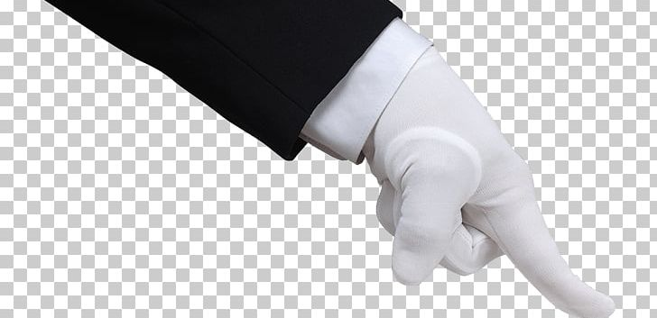 Hand In White Glove Pushing Down PNG, Clipart, Hands, People.