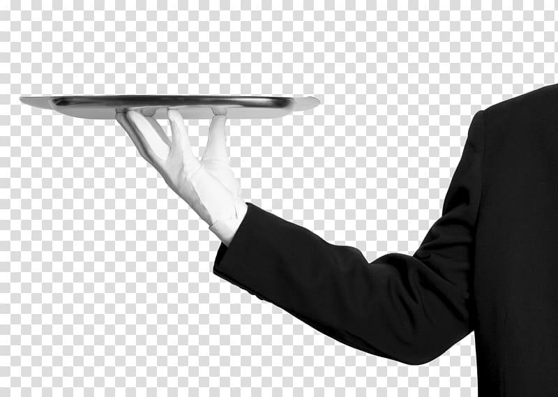 Glove Waiter Business Service, Business transparent.