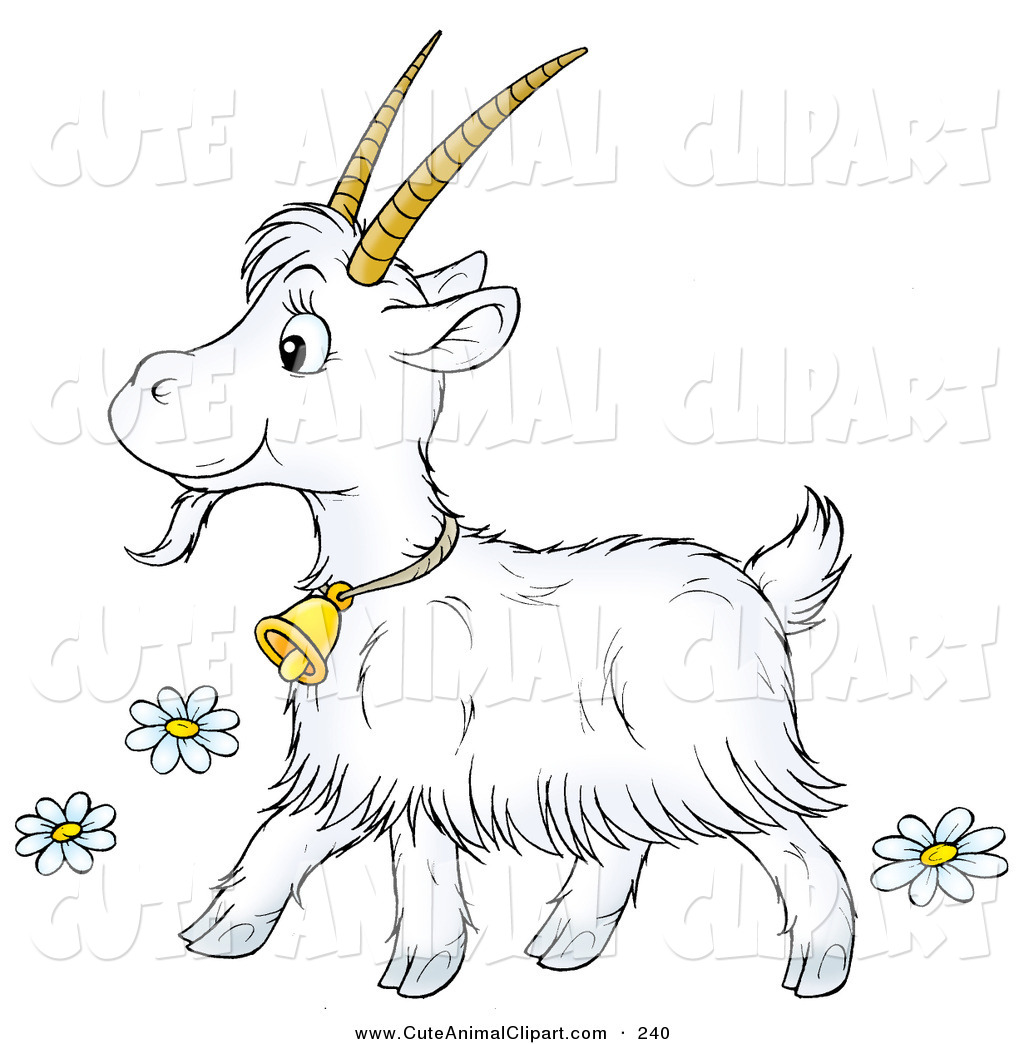 Royalty Free Stock Animal Designs of Billy Goats.