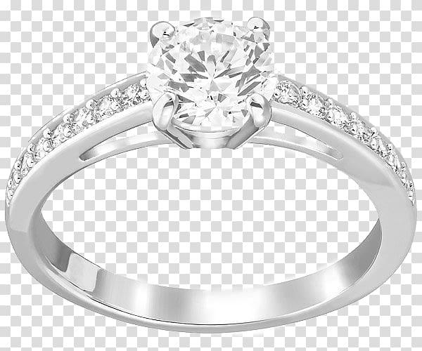 Ring size Swarovski AG Jewellery Rhodium, Swarovski Jewelry.