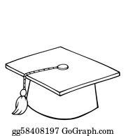 Graduation Cap Clip Art.