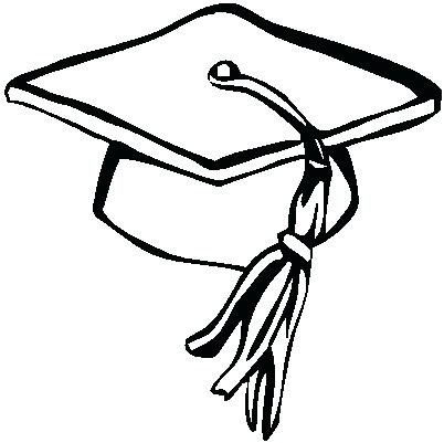 447 Graduation Hat free clipart.