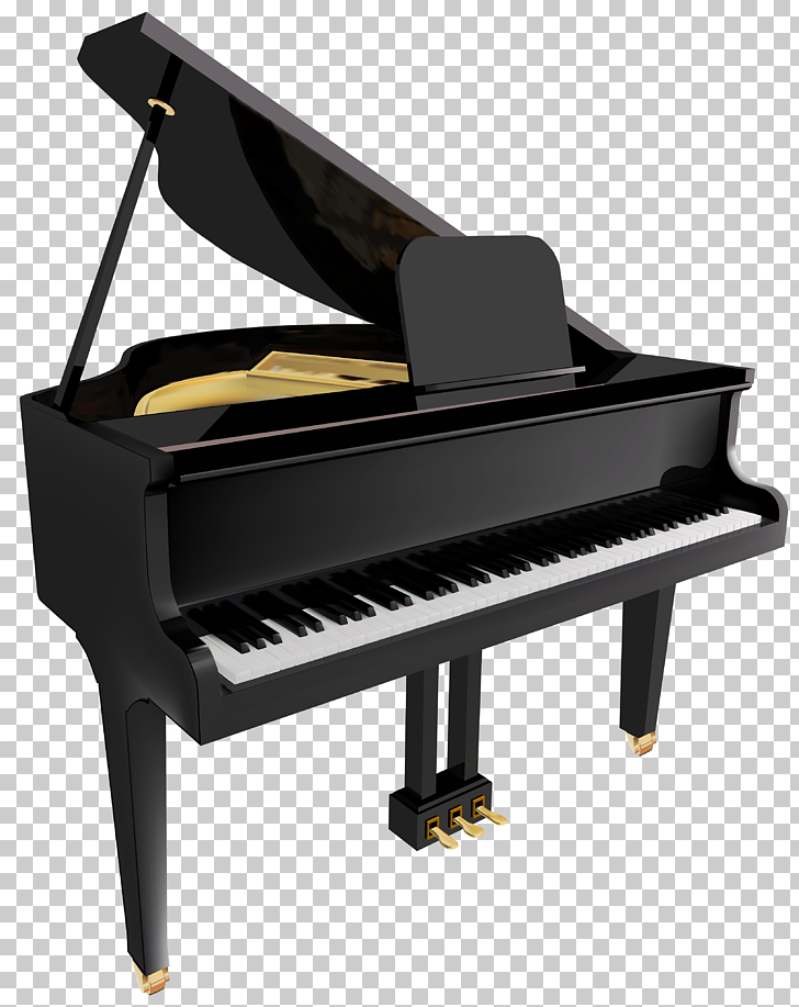Piano , Transparent Piano , black and white grand piano.