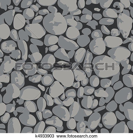 Clipart of Gravel.