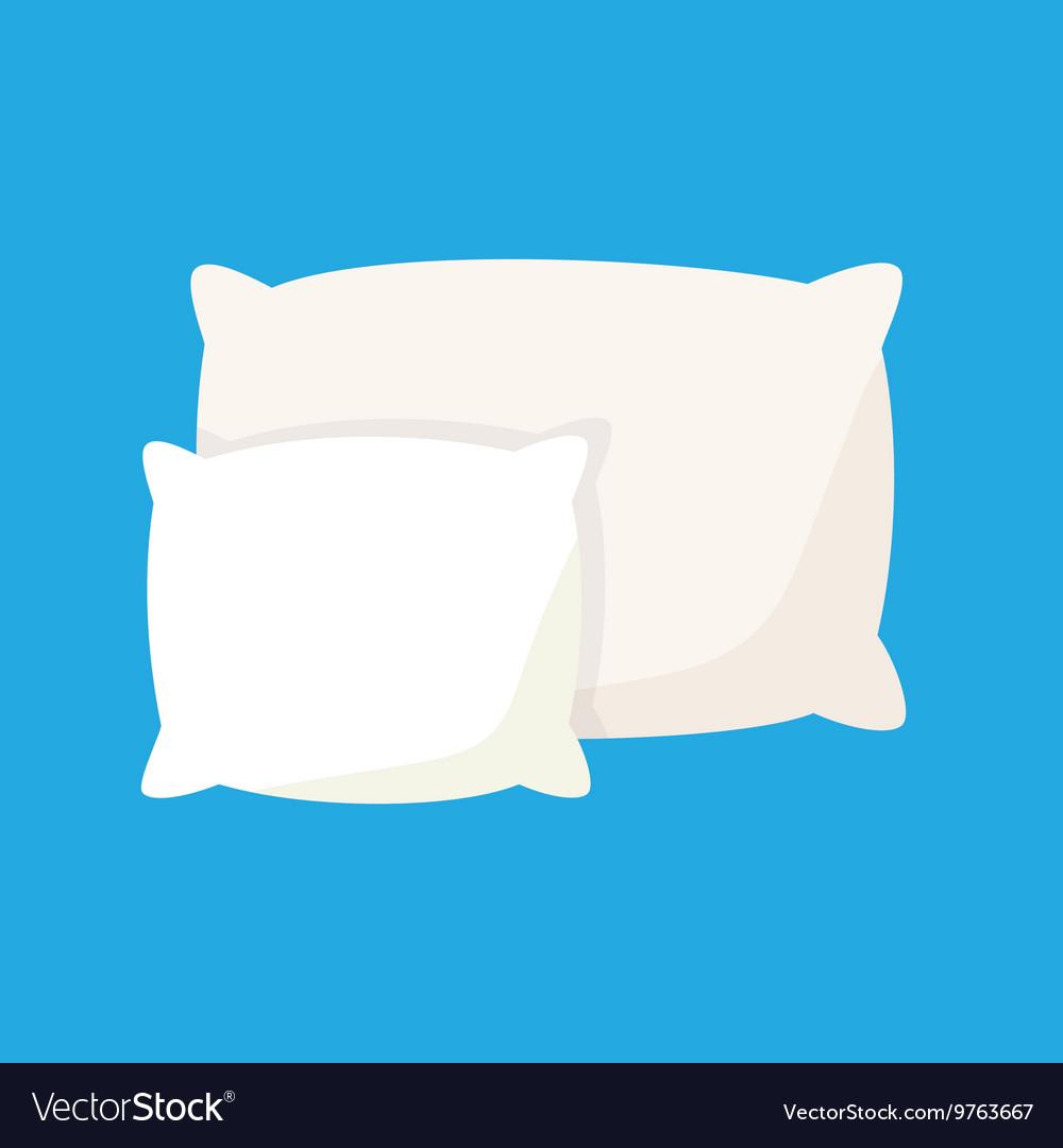 White pillow cushion.