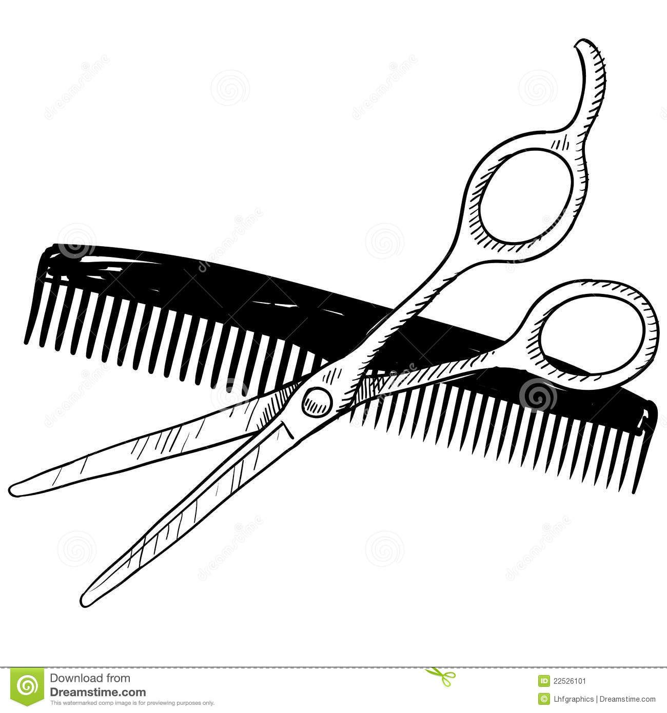 Images For > Barber Comb Clip Art.