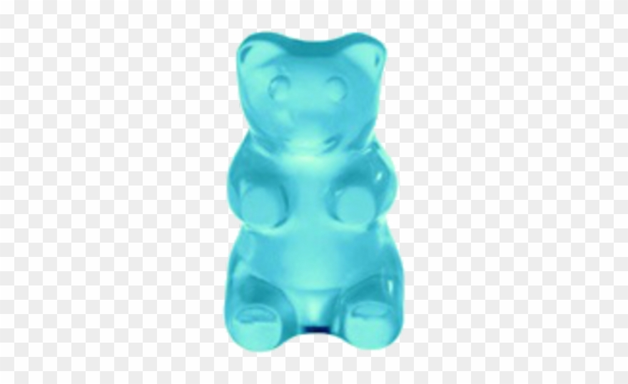 Gummy Bear Clipart Blue.