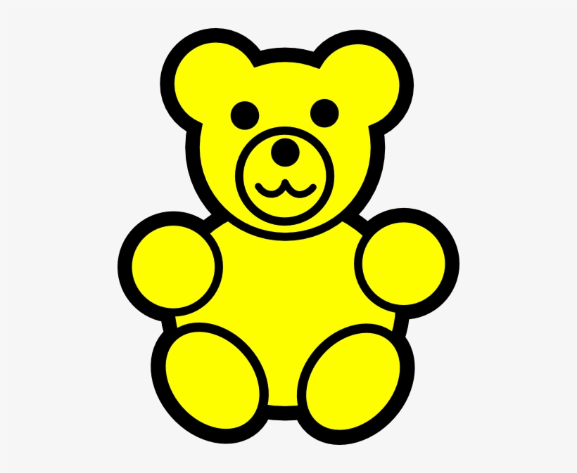 Teddy Bear Clipart Gummy Bear.